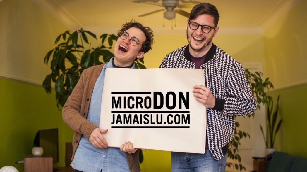 Le Festival du Jamais Lu s'associe aux Appendices pour sa campagne de microdon