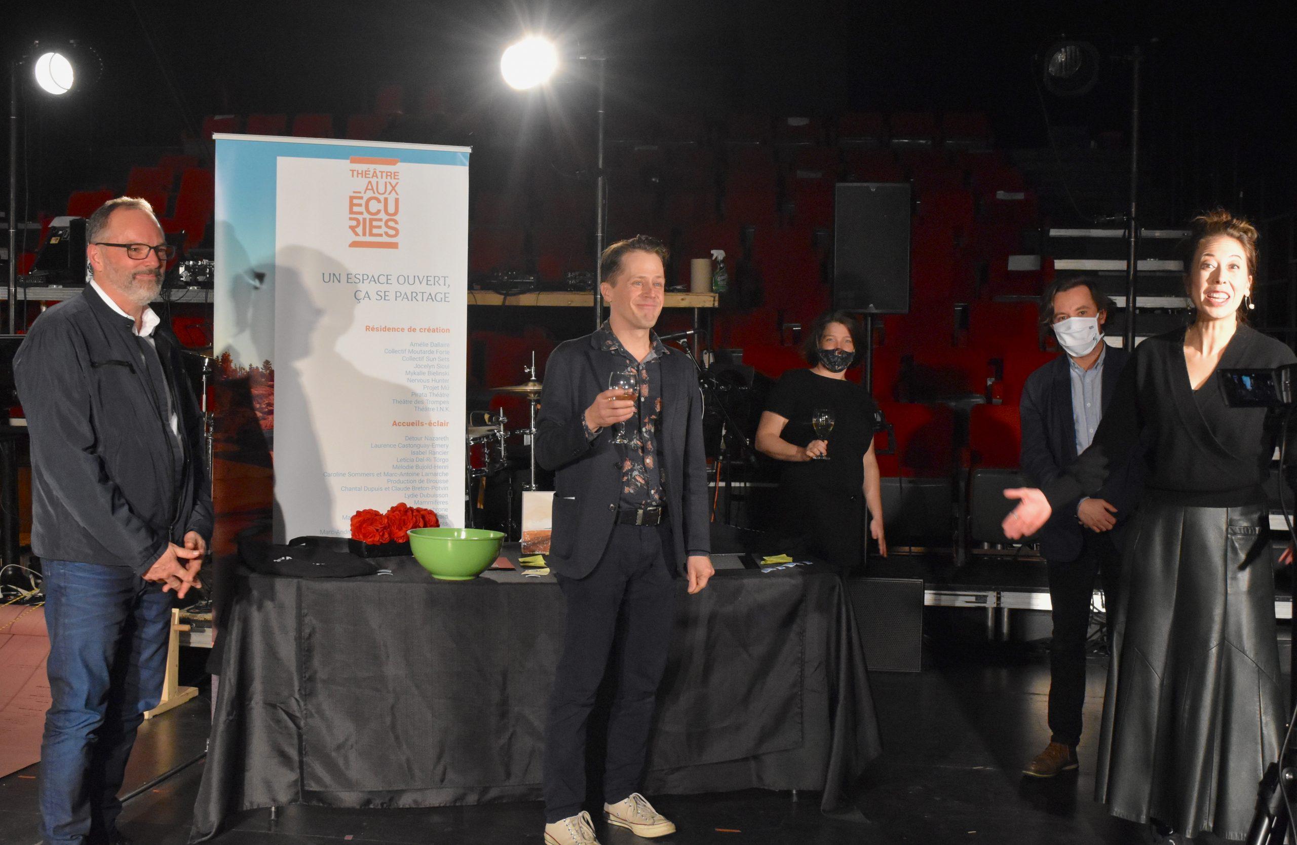 Une campagne de financement MÉ-MO-RA-BLE et une Soirée-B exceptionnelle au Théâtre Aux Écuries !